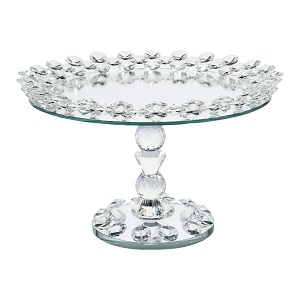 Simply Elegant Glass Cake Stand