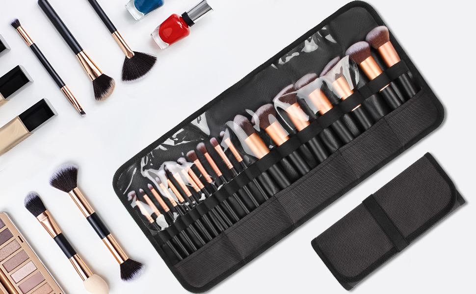 brushes cosmetic bags for women