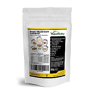 mood enhancer glucans medicinal extract fresh dried ganoderma lucidum maitake adaptogen