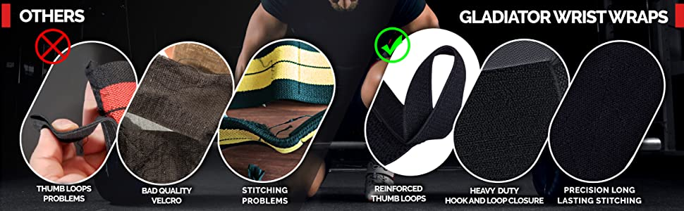 gladiator powerlifting wrist wraps crossfit grips deadlift workout gear wrist strap pull up exercise