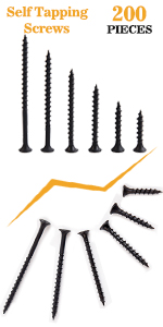 M4 drywall screws