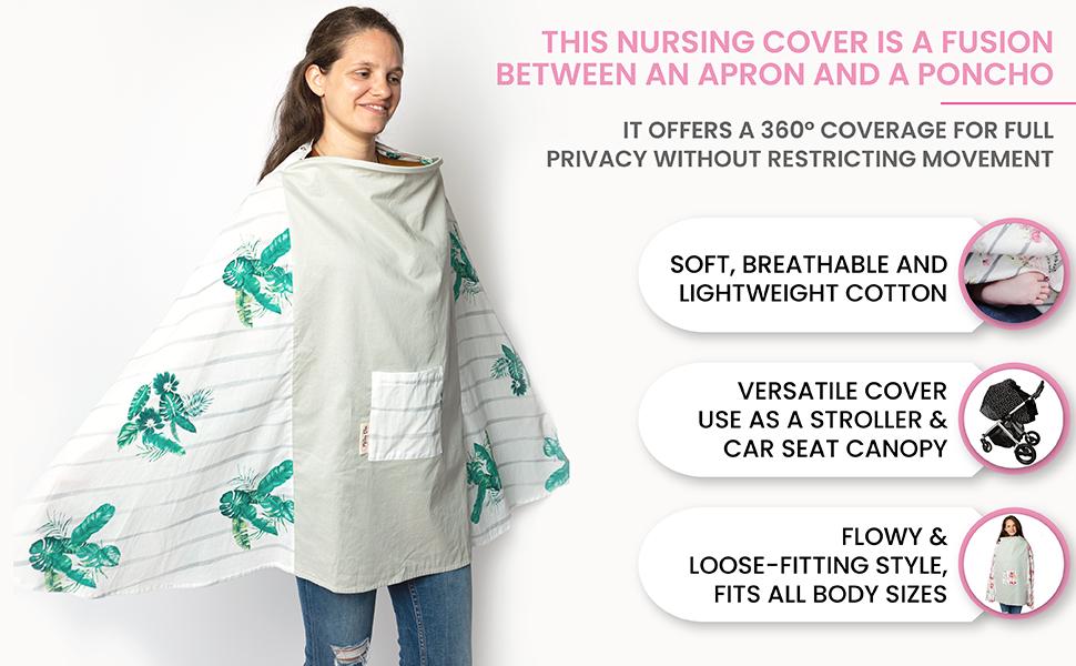 nursing and breastfeeding poncho