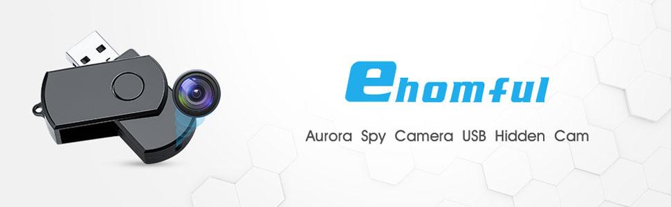 Ehonful Spy Camera USB Hidden Cam