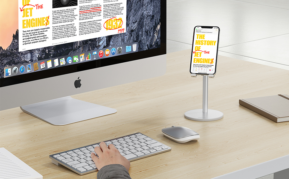 Adjustable Height Phone Stand