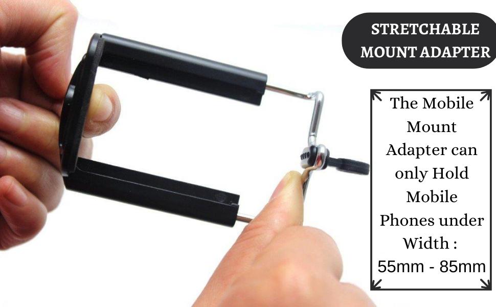 Tripod Clip Bracket for Mobile Holder