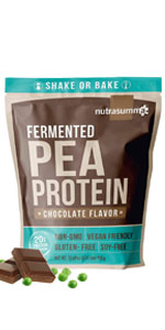 Chocolate Fermented Pea Protein
