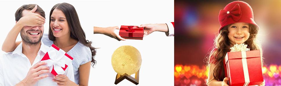moon lamp gift for kids lovers