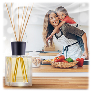 Reed Oil Diffuser Scented Reed Diffuser Fragrance Lemongrass Pine Diffuser Gift Set
