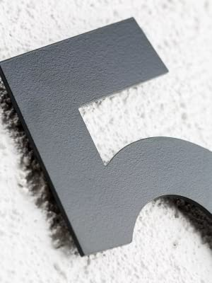 Roestvrij stalen huisnummer v2a v4a huisnummer van roestvrij staal
