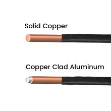 sold copper vs cca copper clad aluminum