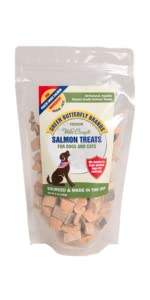 freeze dried salmon treats for dogs made in usa salmon treats for cats made in usa training treats