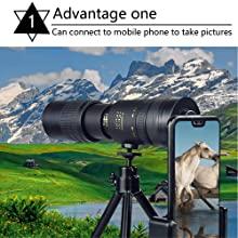 4k 10-300x40mm super telephoto