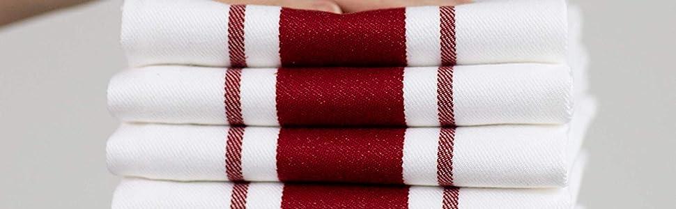Couleur Torchon Bar A Vin Sud 50x70 Taille Rouge