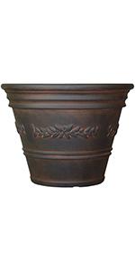 laurel flower pot planter