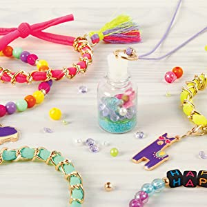 make it real tween jewelry making kit for girls beads arts and crafts for kids tweens
