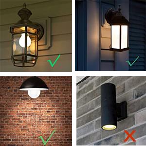 light sensing outdoor bulb