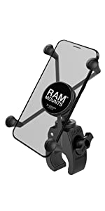 motorcycle mount, x grip, x-grip, ram, ram mounts