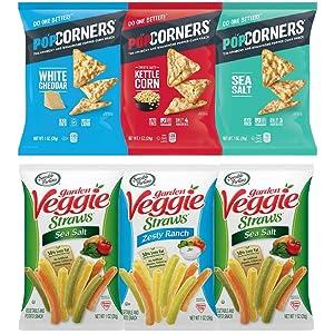 Healthy Snack Gift Box Crackers Cookies Candy Chips Snacks Bulk Bundle Treats School Variety Pack