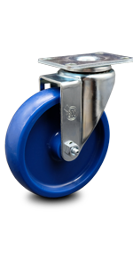 Service Caster, series 20, light duty caster, top lock brake, total lock brake