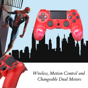 Wireless, Motion Control and Changeable Dual Motors