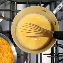 Sodium Citrate Make Cheese Sauce Add Shredded Cheese Water Mixture