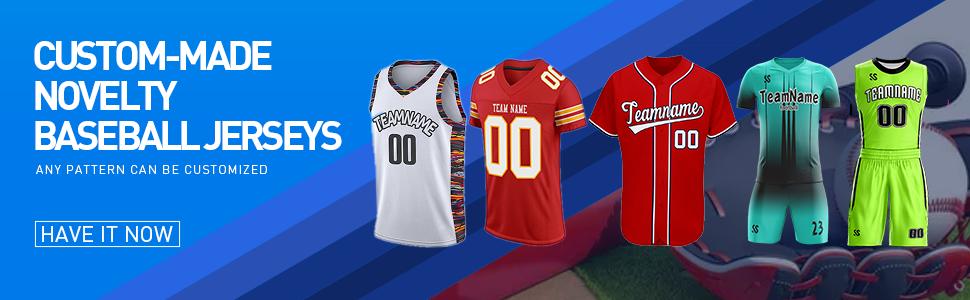 custom baseball jersey football shirt for men women youth soccer jersey basketball jersey design