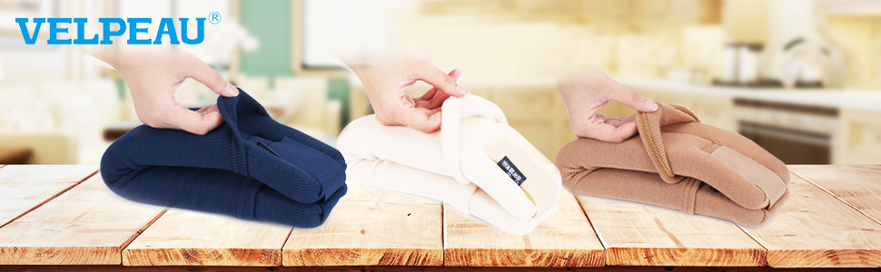 A removable sleeve is equipped, it can be covered on the product, comfortable and hygienic.