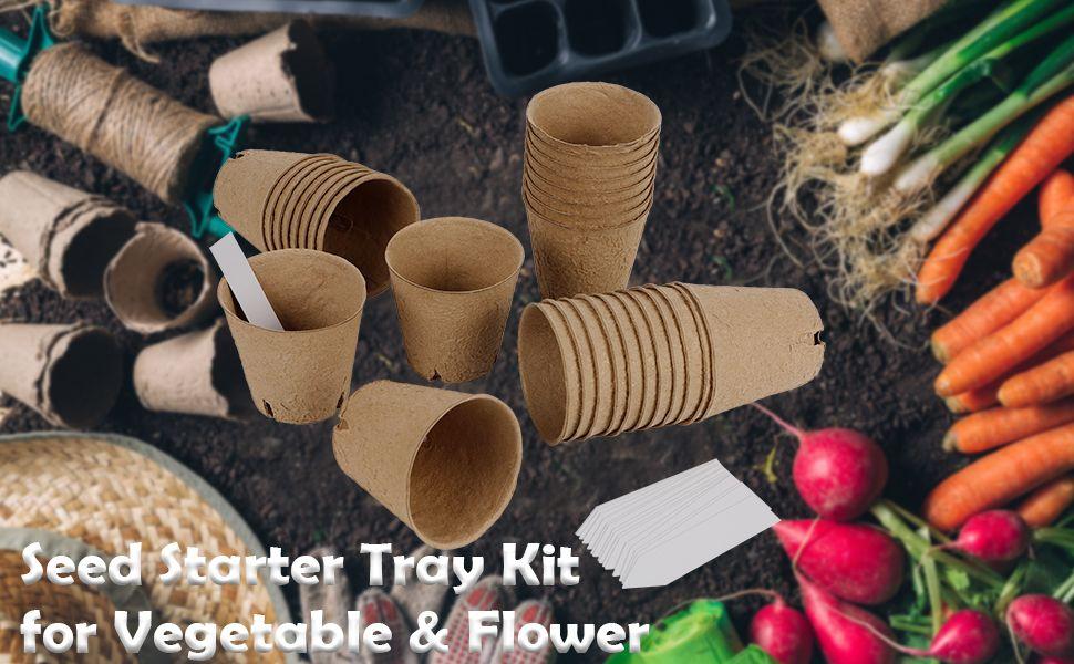 Nursery Peat Pots