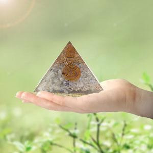 pyramid orgone pyramids orgonite emf protection energy generator crystal healing money