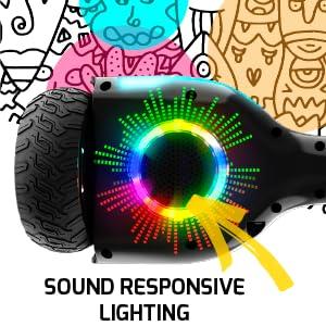 SOUND RESPONSIVE LIGHTING