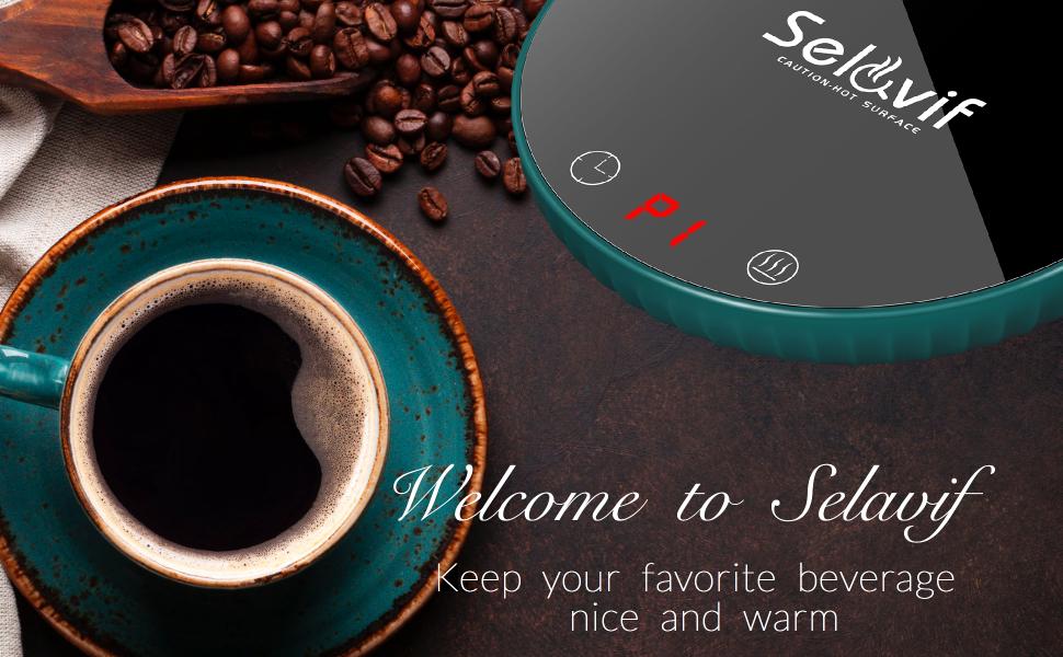selavif coffee mug warmer