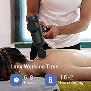 massage gun deep tissue percussion handheld massager