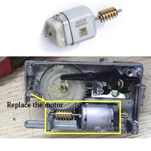Sep3: replace the motor