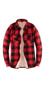 women flannel shirt jacket