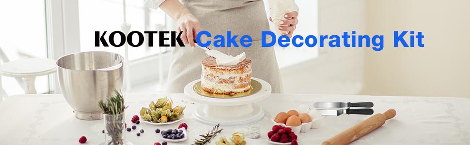 cake decorating kit