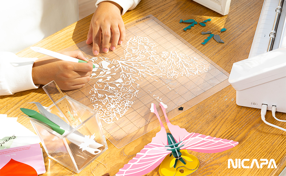 Nicapa Cutting Mat for Silhouette Cameo