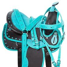 Free tack set,bridle, headstall, breast collar, breastplate, western tack, pony tack, saddle pad