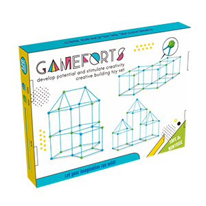 fort building kit for kids outdoor