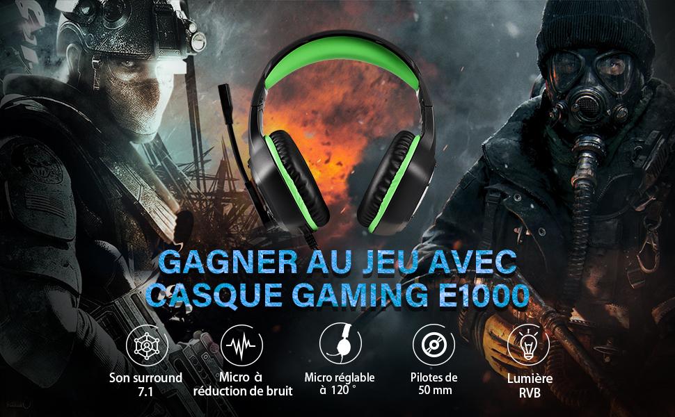 CASQUE GAMER