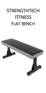 FITNESS, FLAT BENCH, WEIGHT BENCH