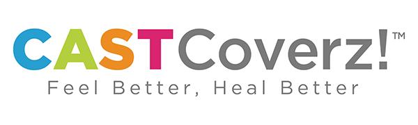 CastCoverz Logo. Feel Better, Heal Better.