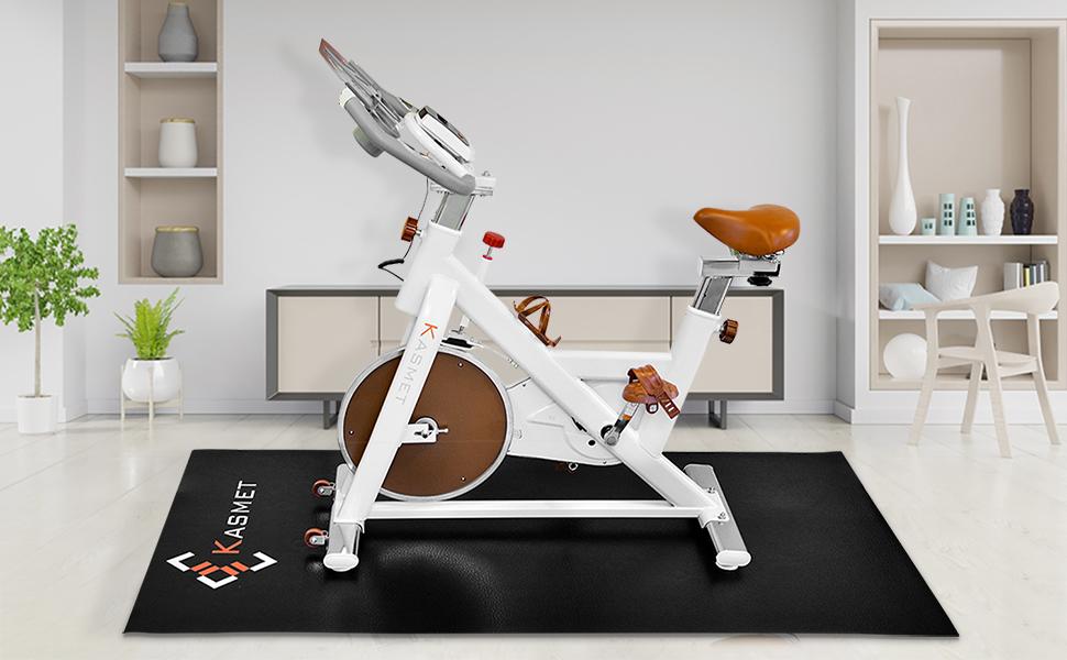 Floor Mat for domestic exercise equipment