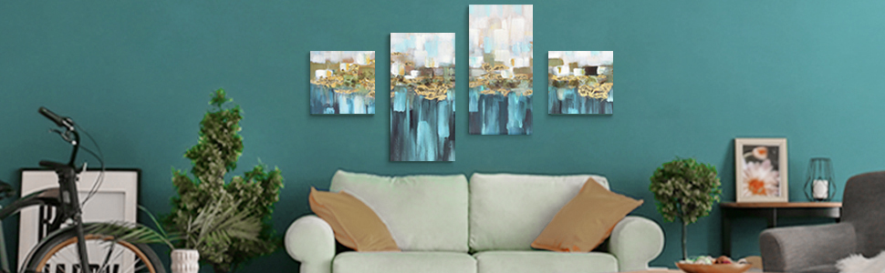 wall art for watercolor abstract
