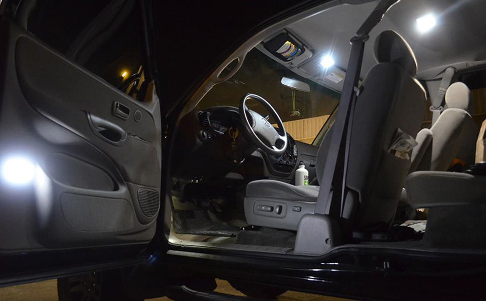 Quaanti Car Auto Reading Interior Automotive Runk Adjustable Luminance LED Light As The Details Show White
