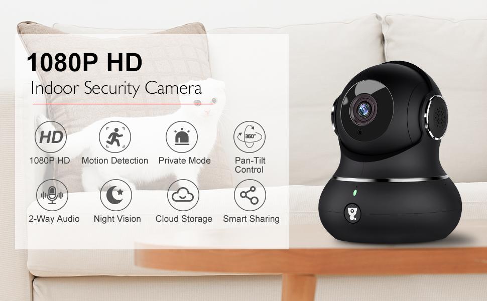 1080P Indoor Security Camera
