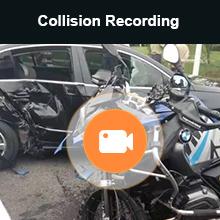 Blueskysea A12 Motorcycle Dashcam Camera