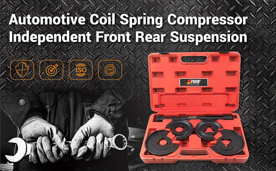 mercedes tools truck spring compressor compresor de resorte de amortiguadores - EWKtool - EB0017-9