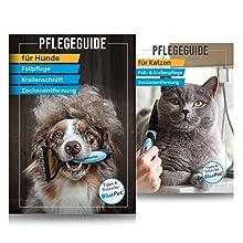 BluePet Unterfellbürste tägliche Anwendung entfernt Unterwolle Hundebürste Katzenbürste EBOOK