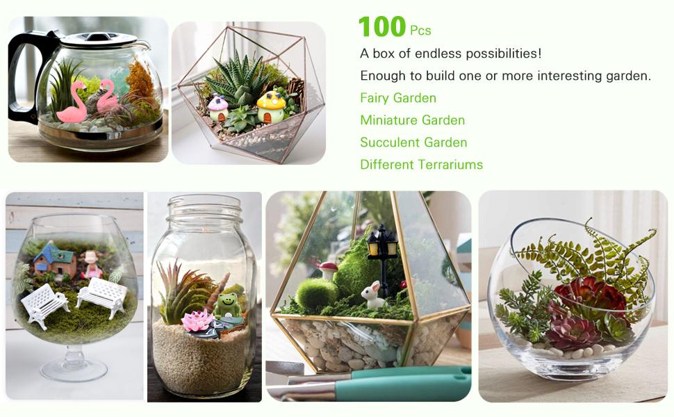 100 Pcs, A box of endless possibilities!