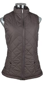 Brown Women Vest